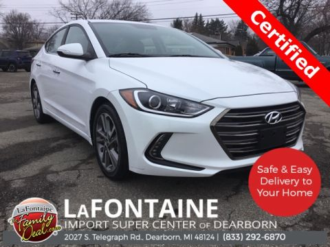 Certified Pre-Owned 2017 Hyundai Elantra Limited FWD 4D Sedan