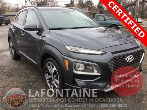 Certified Pre-Owned 2018 Hyundai Kona Limited AWD 4D Sport Utility